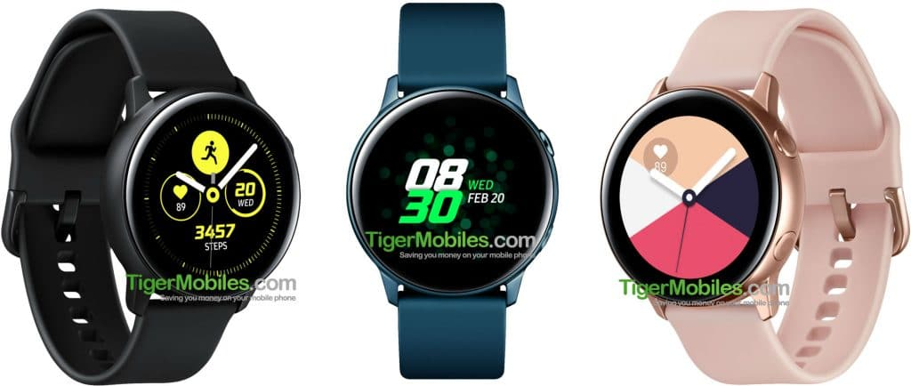 Possible Samsung Galaxy Watch Active specifications and