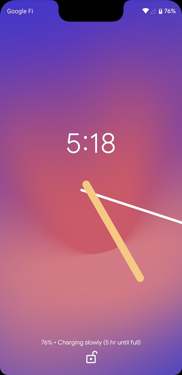 Google is working on lock screen clock customization in Android Q