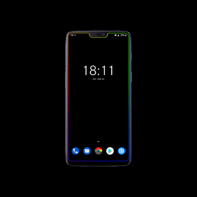 Borderlight Live Wallpaper gets updated to support the OnePlus 6T and other waterdrop notch phones