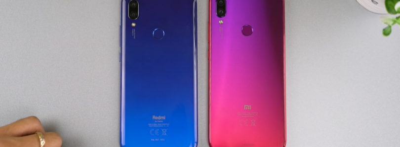Redmi 7 leaks clearly in an early hands-on video