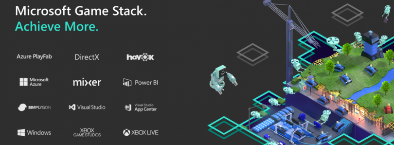 Microsoft announces Game Stack, an ecosystem of game-development platforms, and an Xbox Live mobile SDK