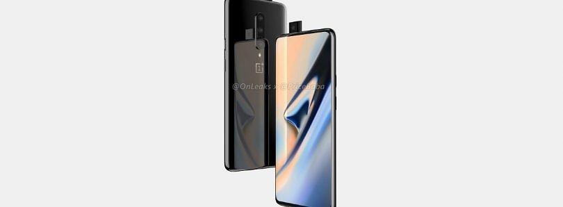 [Update: Pro] OnePlus 7 CAD renders show notchless design, triple rear cameras, and pop-up selfie camera