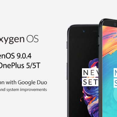 OxygenOS 9.0.4 for the OnePlus 5/5T adds Google Duo integration