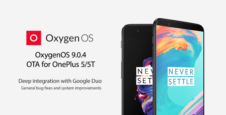 OxygenOS 9 0 4 for the OnePlus 5/5T adds Google Duo integration
