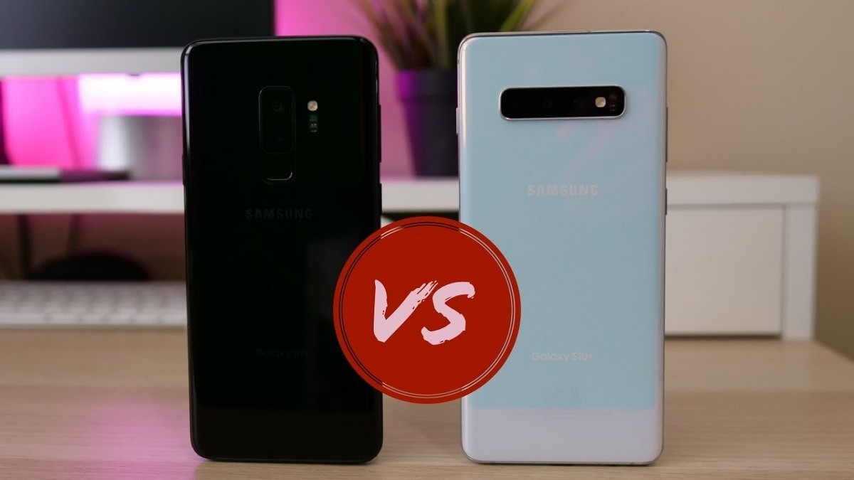 Samsung Galaxy S10+ versus the Galaxy Note 9 and Galaxy S9+: