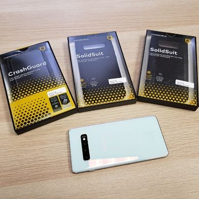 Hands-on with RhinoShield CrashGuard and SolidSuit Cases for Samsung Galaxy S10 and S10+