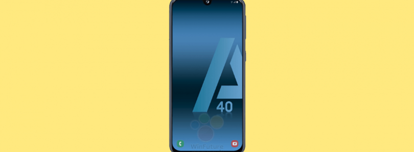 Samsung Galaxy A40 leaks with an Infinity-U display and Exynos 7885