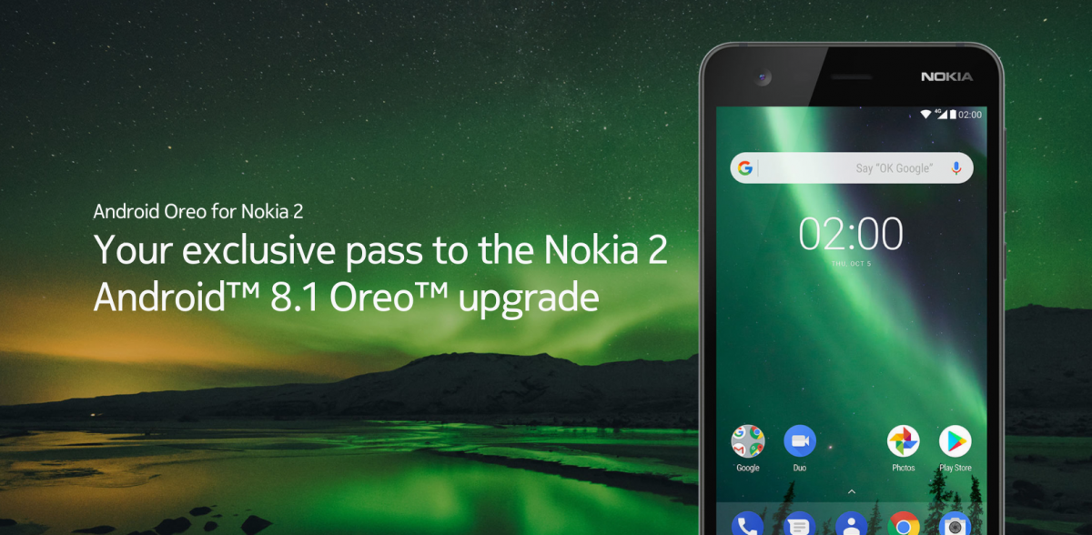 Nokia 2 users can now upgrade to Android Oreo if they choose