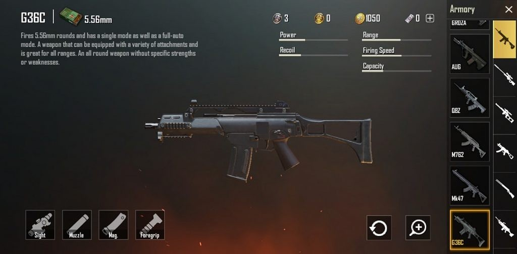 PUBG Mobile Royale Pass Season 6 update with new G36C rifle