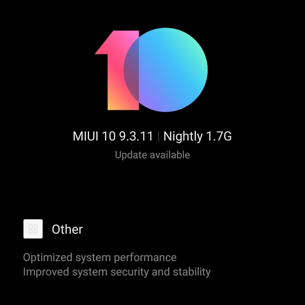 Download MIUI 10 Closed Beta 9 3 11 (Android Pie) for the Xiaomi