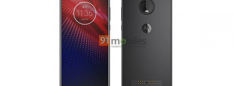 Motorola Moto Z4 leak reveals small notch, Moto Mod support, and possibly in-display fingerprint scanner
