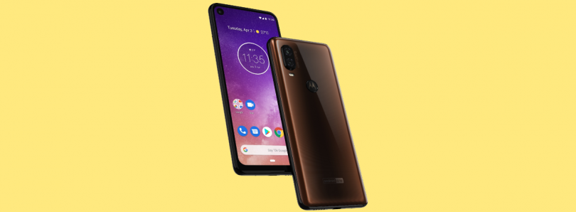 [Update: More Details] Motorola One Vision render confirms 48MP camera and punch hole display