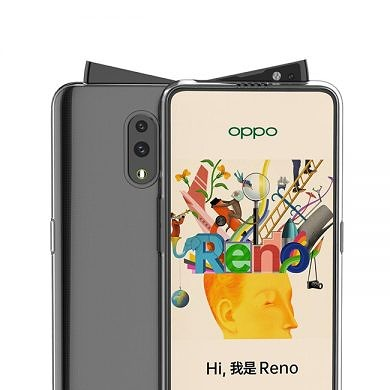 OPPO Reno leaked video and render reveal peculiar swivel pop-up camera