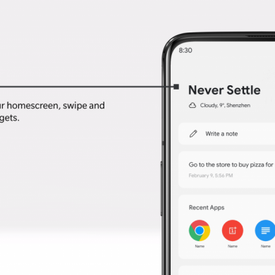 OnePlus Launcher update adds a parking location service to find your car