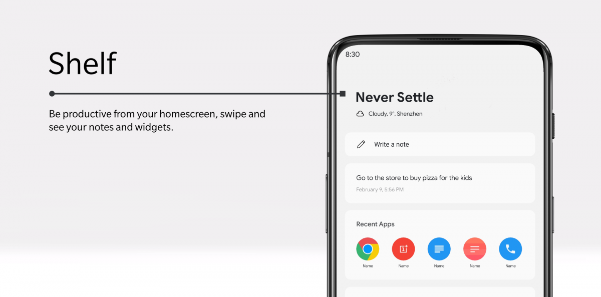 OnePlus Launcher update adds a parking location service to