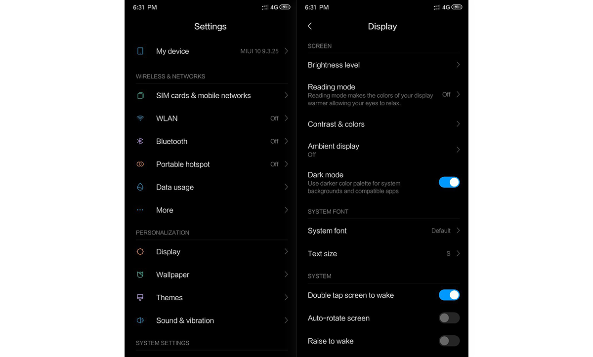 Xiaomi POCO F1's latest MIUI 9 3 25 beta adds a dark theme