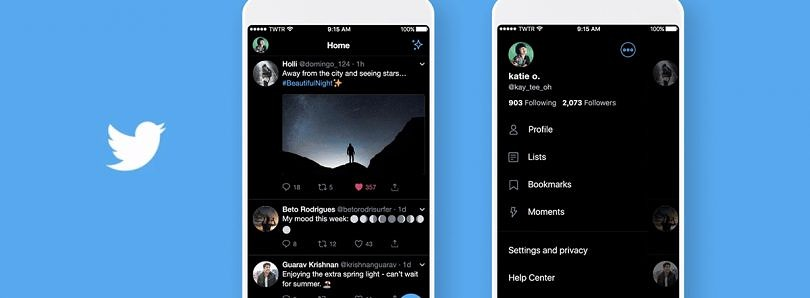"""Twitter's """"Lights Out"""" dark mode on track to release for Android in September"""
