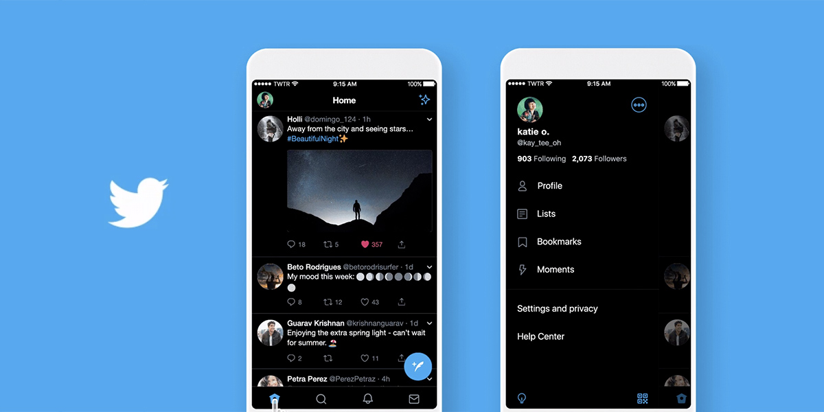 Dark Mode In Twitter