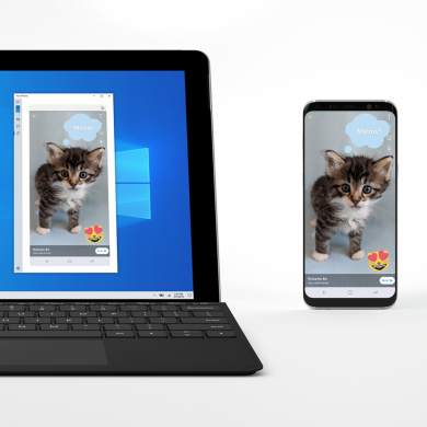 Microsoft's screen mirroring feature now supports the OnePlus 6/6T, Samsung Galaxy S10, and Galaxy Note 8/9