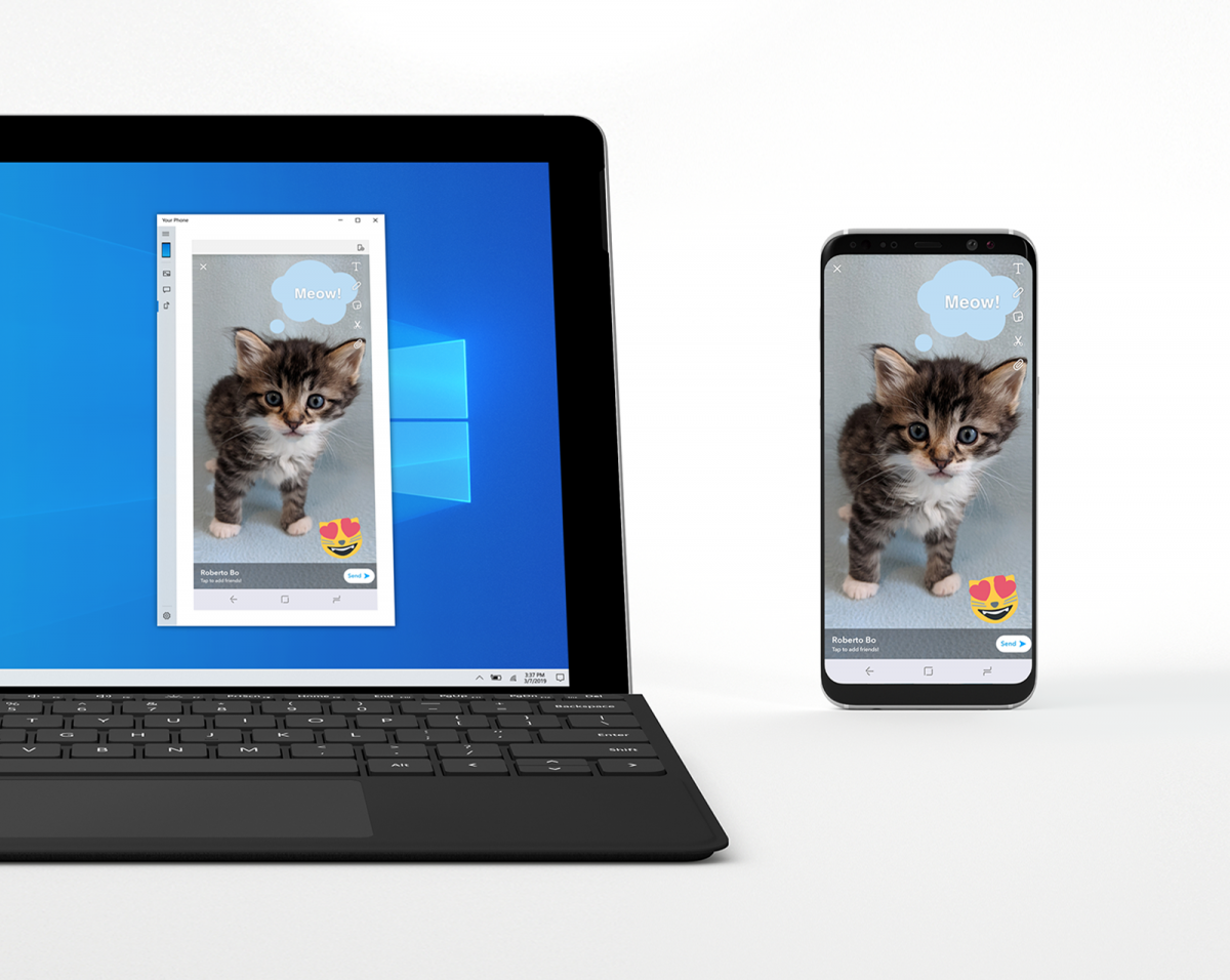 Latest Windows 10 Insider build lets you mirror Android apps