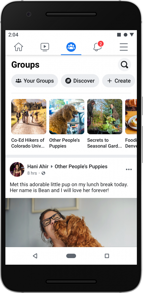 The Facebook app is getting a new design while Messenger will get a