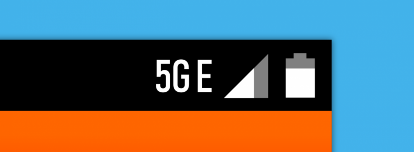 AT&T's fake 5GE icon has been added to AOSP
