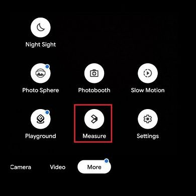 Google Camera prepares to add an augmented reality measuring mode