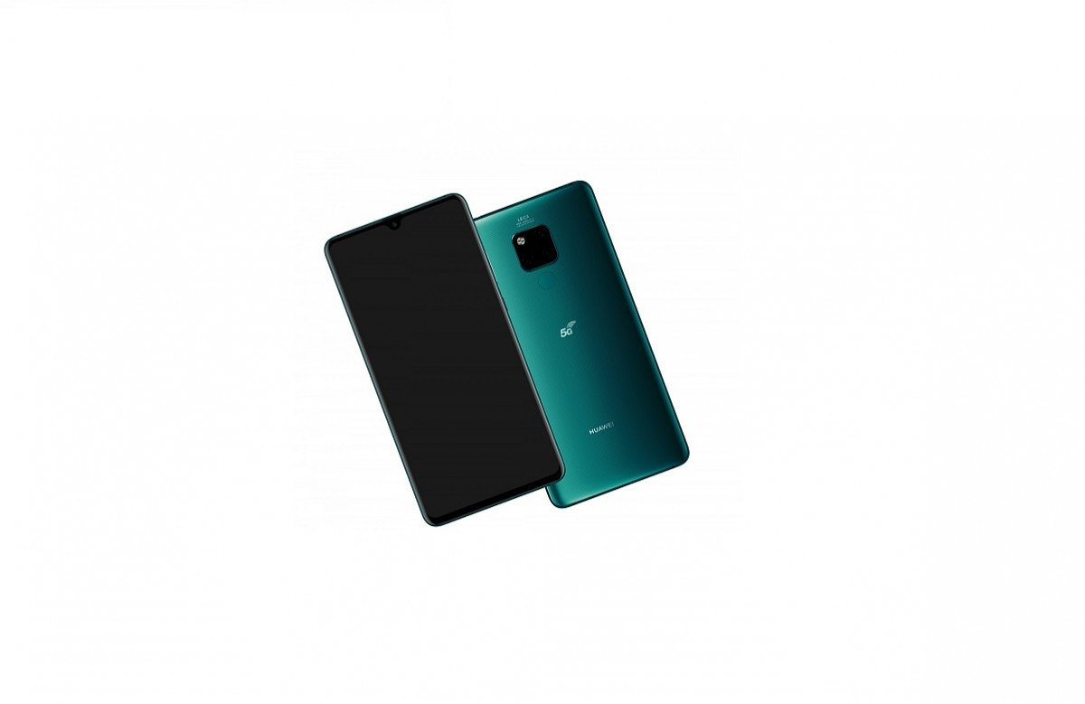 The Huawei Mate 20 X 5G has a smaller battery, faster 40W charging