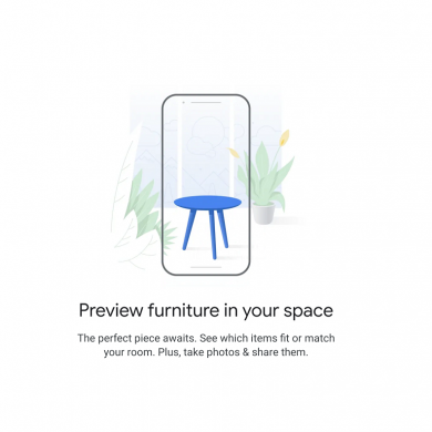 Hands-on: AR Shopping on the Google Pixel lets you preview furniture from Google Shopping in your home