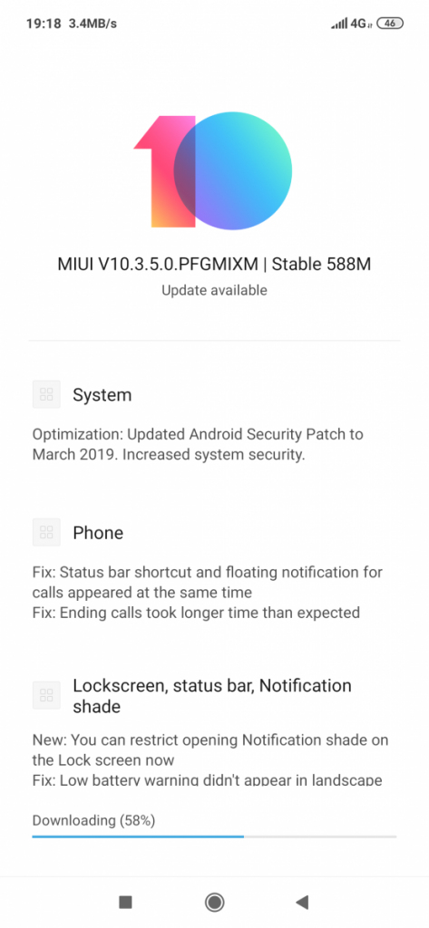 MIUI 10 3 5 0 rolls out for the Xiaomi Redmi Note 7 with new
