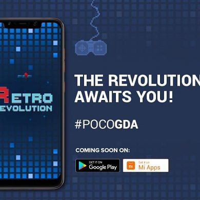 Retro Revolution will be the second game from POCO's Game Development Academy