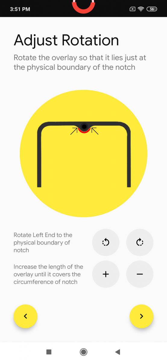 Notch Pie adds a battery indicator to the waterdrop notch of the