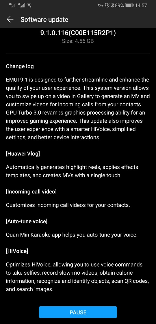 Huawei Mate 20 Pro and Mate 20 X (AL00) are receiving the