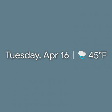Google's At A Glance widget prepares to add reminder alerts and intelligent tips