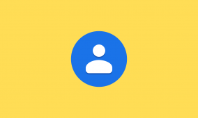 Google Contacts 3.5.7 tests showing a list of local emergency contact numbers