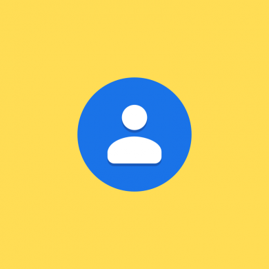 Google Contacts tests showing a pop-up panel when adding new contacts