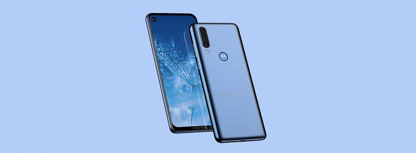 New CAD renders allegedly show Motorola's first smartphone with triple rear cameras