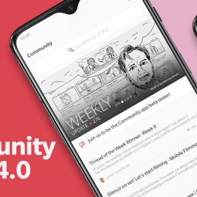OnePlus' Community app adds a feedback platform on the home page, OnePlus 3/3T gets a public Android Pie beta in China