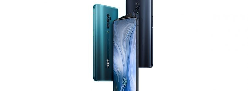 OPPO Reno with 10X zoom, side-swing pop-up selfie camera, Snapdragon 855 launched in China