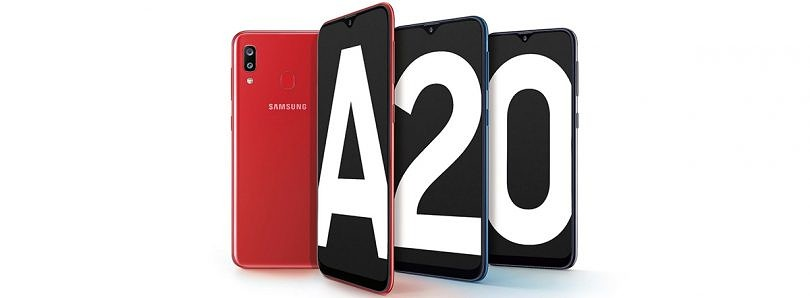 Samsung Galaxy A20 with 6.4″ AMOLED display, 4000mAh battery, Android Pie launched in India