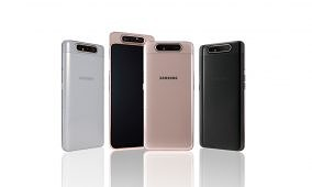 [Update 4: Rs 8000 ($110) price cut in India] The Samsung Galaxy A80 with a rotating camera module, notchless Infinity display is now official