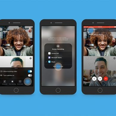 Skype screen sharing is now available on mobile
