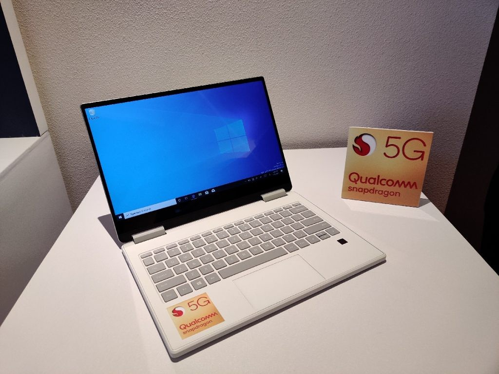 Windows 10 5G PC with the Snapdragon 8cx
