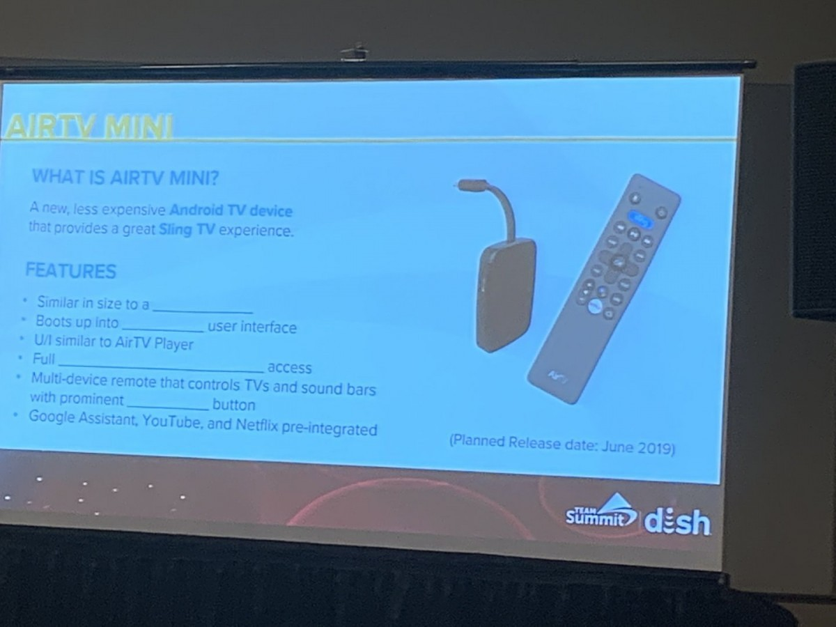 Update: Available Now] The Dish AirTV Mini is an upcoming 4K