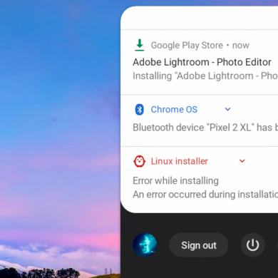 "Chrome OS 76 finally moves the ""Clear All"" notifications button to the top"