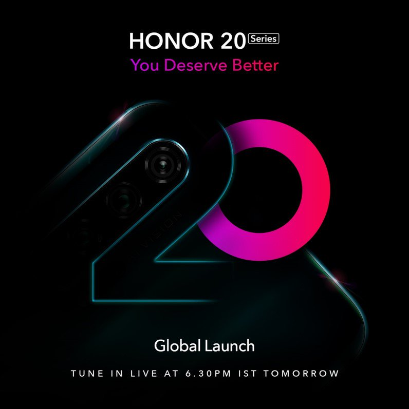 Honor unveils affordable, high-end quad-camera smartphones