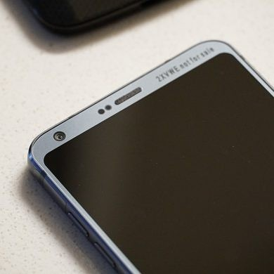 LG made prototypes of the G6 with the Snapdragon 835. Here's one of them.