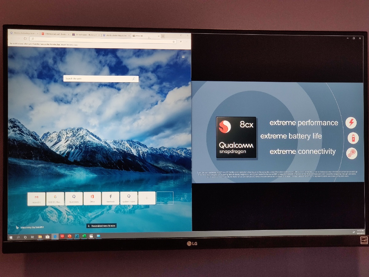 Chromium-based Edge browser and Video playback on the Snapdragon 8cx running Windows 10