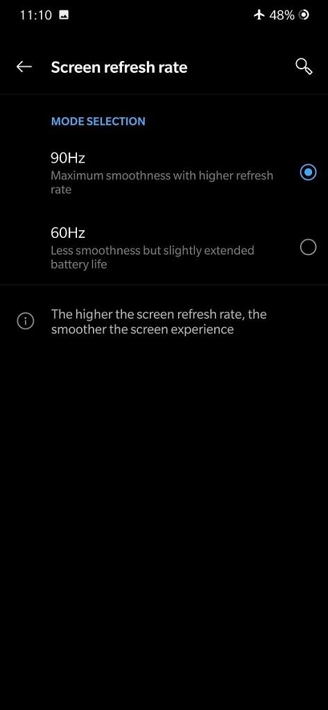 """<p>We've crowned the OnePlus 7 Pro the best smartphone in 2019 so far, and that's largely due to its big, beautiful 6.67-inch QHD+ 90Hz OLED display. While its camera quality can definitely be improved, the new OnePlus flagship definitely has the best display out there. In Display settings, you have the option to choose between</p> <p>The post <a rel=""""nofollow"""" href=""""https://www.xda-developers.com/oneplus-7-pro-true-90hz-display-mode/"""">The OnePlus 7 Pro's 90Hz Refresh Rate Doesn't Support Every App – Here's How to Fix It</a> appeared first on <a rel=""""nofollow"""" href=""""https://www.xda-developers.com/"""">xda-developers</a>.</p>"""