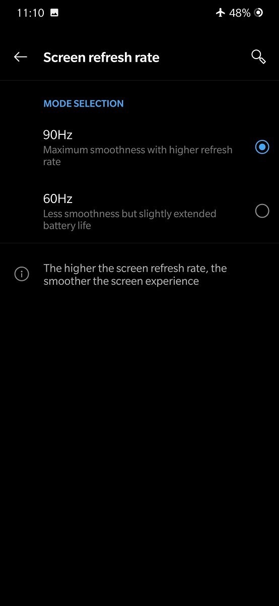 OnePlus 7 Pro 90Hz Mode Doesn't Work in Every App - How to